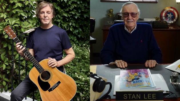 Paul McCartney pays tribute to Stan Lee; says Lee suggested creating a superhero based on Macca