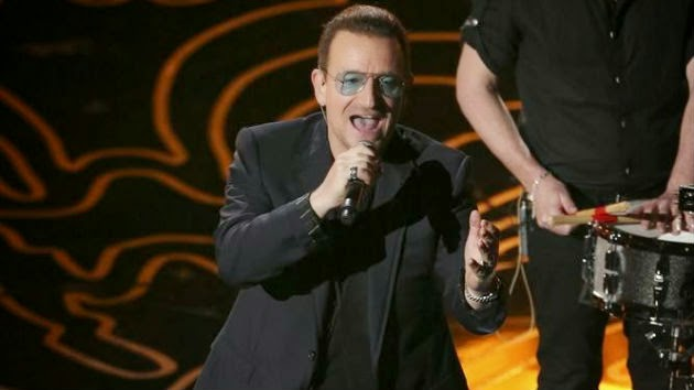 "U2's Bono: ""We're going away now"""