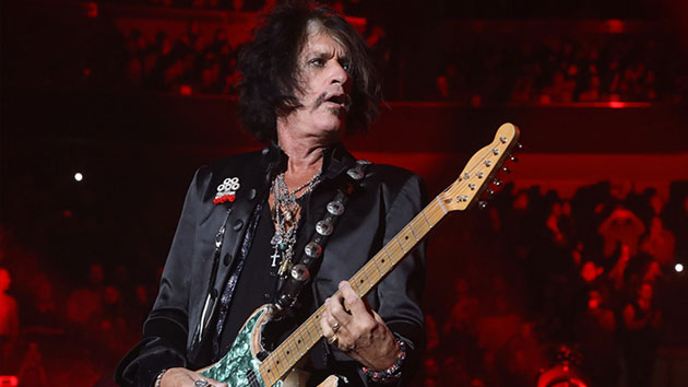 """Aerosmith's Joe Perry says he's """"doing well"""" following health issue Saturday at Billy Joel concert"""