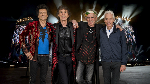 Rolling Stones post video hinting at North American tour; band's logo spotted in various U.S. cities