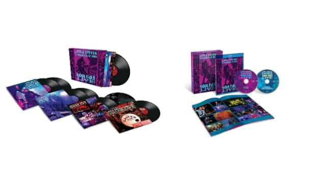 """Little Steven releases vinyl box set, Blu-ray versions of """"Soulfire Live!"""" featuring performance with McCartney"""