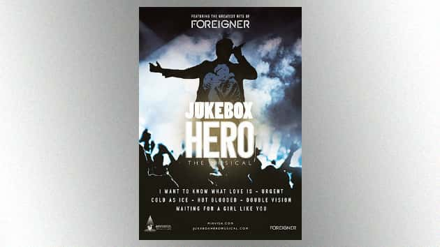 """Foreigner's 'Jukebox Hero' musical premieres tonight in Toronto; Mick Jones is """"blown away"""" by the show"""