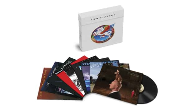 Vinyl versions of nine more Steve Miller Band albums to be reissued in box set and individually