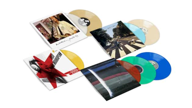 """Paul McCartney reissuing four live releases, including expanded version of 2007 """"Amoeba's Secret"""" EP"""
