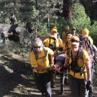 DEVELOPING: Hiker Assisted on the Tumalo State Park Trail