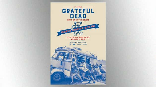 "2019 Grateful Dead ""Meet-Up at the Movies"" screening to feature complete 1991 Giants Stadium concert"