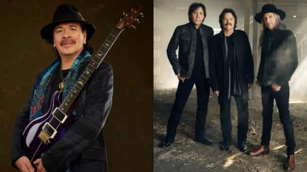 Santana's Supernatural Now Tour with The Doobie Brothers kicks off tonight in California