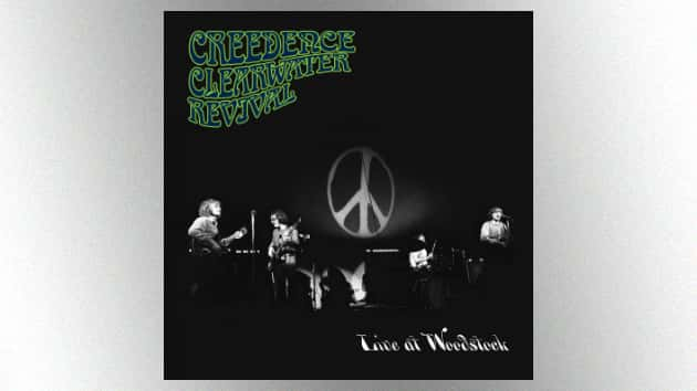 """Listen to Creedence Clearwater Revival's performance of """"Proud Mary"""" from their """"Live at Woodstock"""" album"""