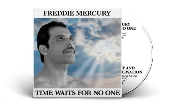 """Freddie Mercury solo song """"Time Waits for No One"""" & archival interview coming on vinyl picture disc, CD single"""