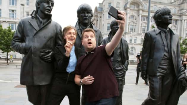 """The one thing Paul McCartney felt """"weird"""" about doing in Emmy-nominated 'Carpool Karaoke' special"""
