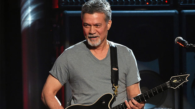 Report: Eddie Van Halen receiving cancer treatments in Germany