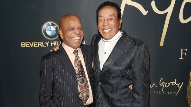 Motown legends Berry Gordy, Smokey Robinson honored at label's 60th anniversary gala