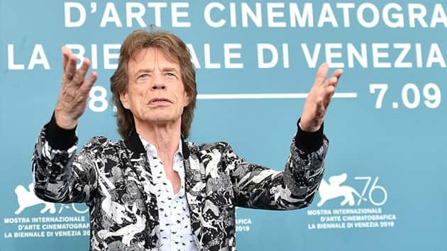 Watch Mick Jagger in the trailer for the new art-heist film 'The Burnt Orange Heresy'
