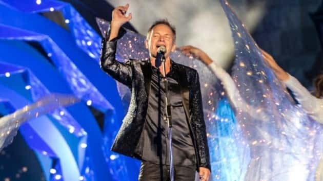 """Sting will explore """"theatrical"""" elements in upcoming Vegas residency"""