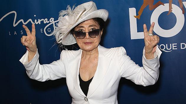 Yoko Ono settles lawsuit with John Lennon's former assistant
