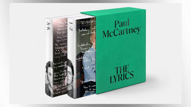 Paul McCartney to publish 'The Lyrics' book in November, profiling over 150 of his songs