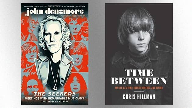 John Densmore, Chris Hillman to take part in upcoming virtual interviews about their recent books