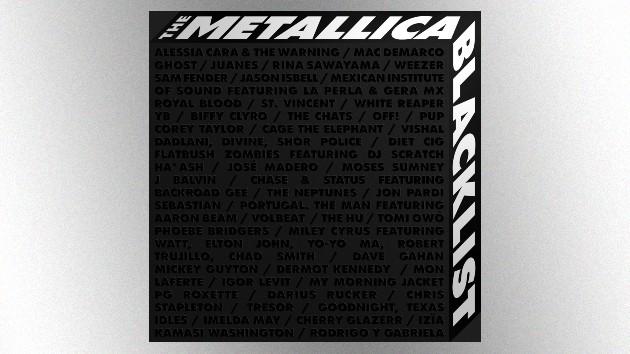 Metallica tribute album featuring Elton John, Depeche Mode singer & dozens more artists, due September 10