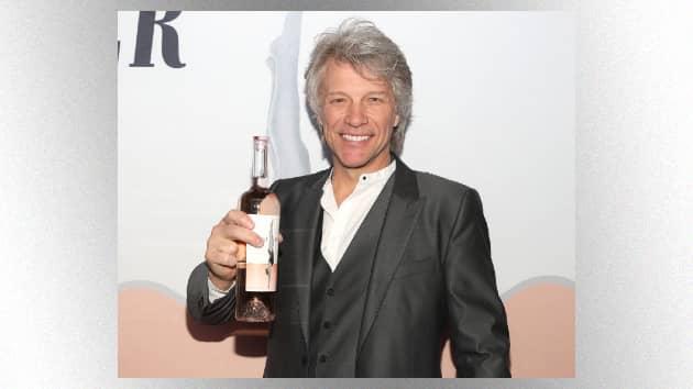 Jon Bon Jovi now offering fans sneakers to match his signature rosé wine