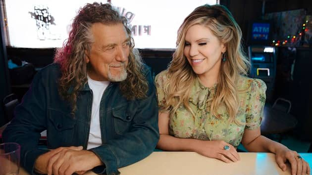 """Watch lyric video for new Robert Plant and Alison Krauss duet """"Can't Let Go"""""""