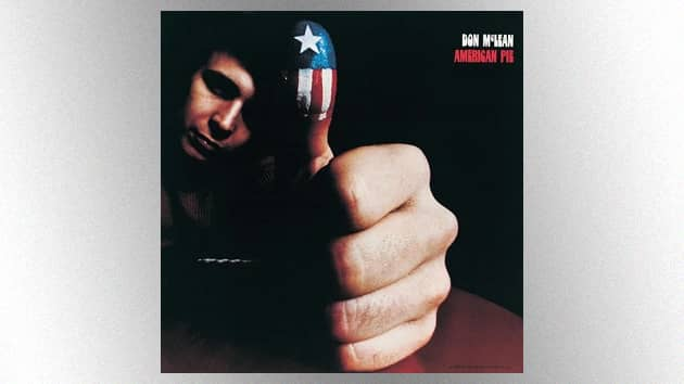 """Don McLean's classic """"American Pie"""" song and album celebrate their 50th anniversary on Sunday"""