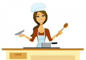 female chef cartoon500x350