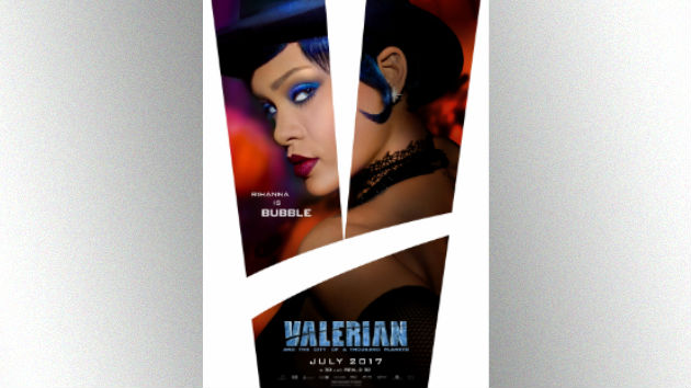 """Rihanna's acting is """"incredible"""" in upcoming movie """"Valerian,"""" says co-star"""