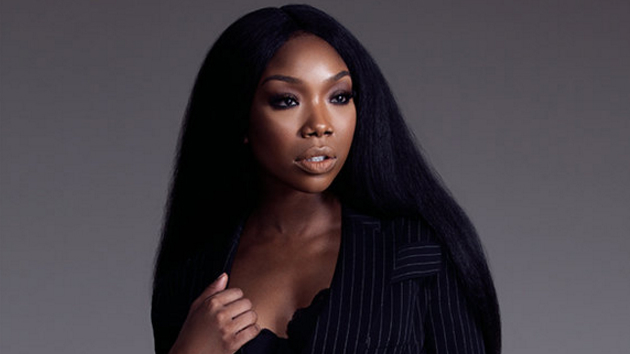 Brandy proves she's not pregnant by hitting the gym for hardcore workout