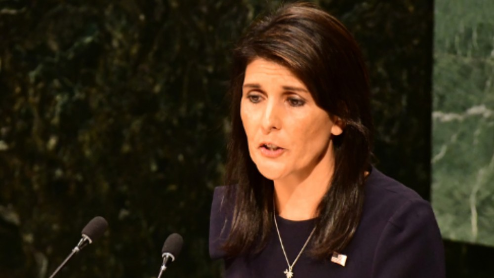 Nikki Haley Says U.S. Is Prepared To Strike Syria Again