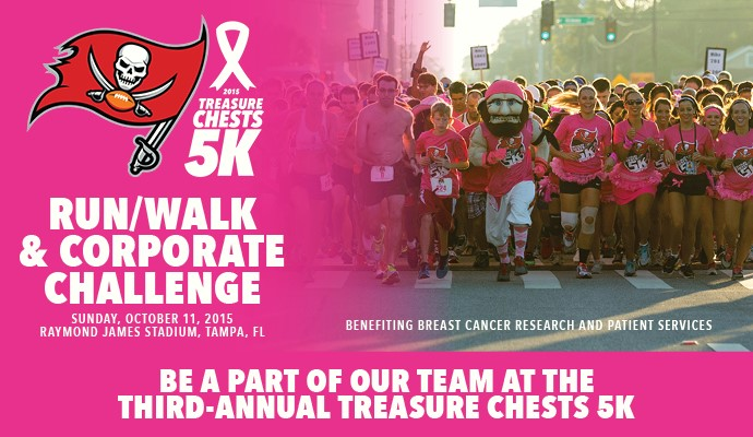 Can breast cancer walk in tampa thanks