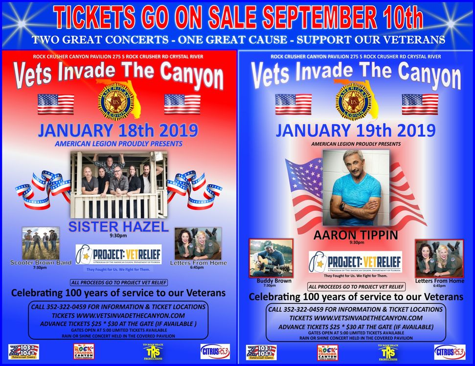 Vets Invade the Canyon!!