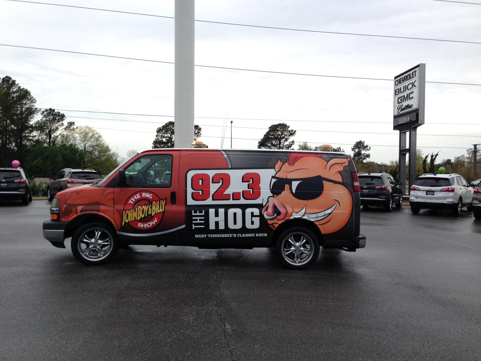 Live Action Broadcast At Serra Of Jackson 92 3 The Hog