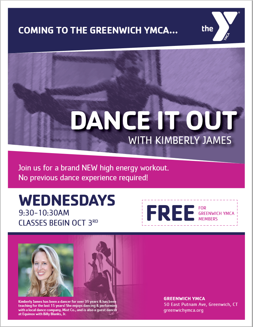 New Fitness Class! Dance it Out! | Greenwich YMCA