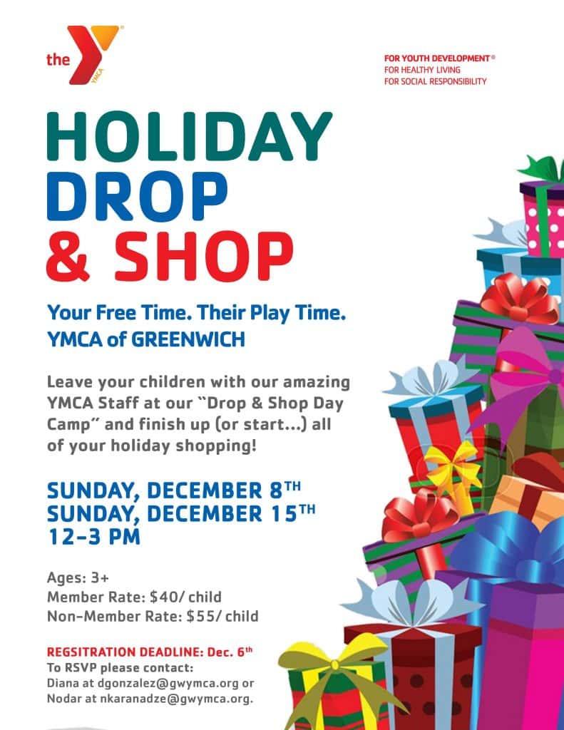 Drop & Shop @ YMCA of Greenwich | Greenwich | Connecticut | United States