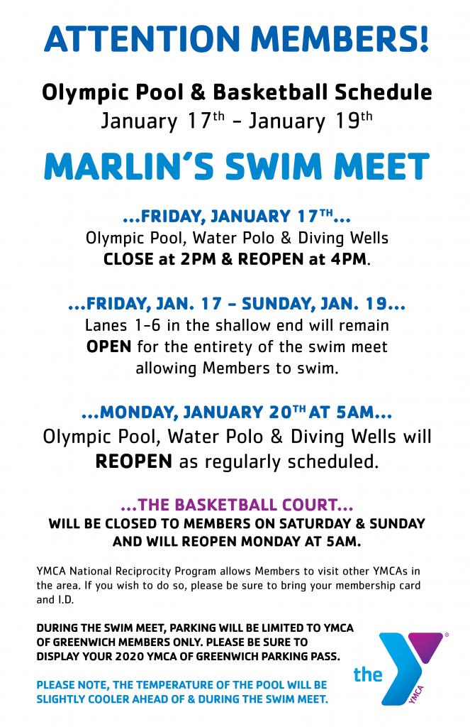 Marlins Swim Meet @ YMCA of Greenwich | Greenwich | Connecticut | United States