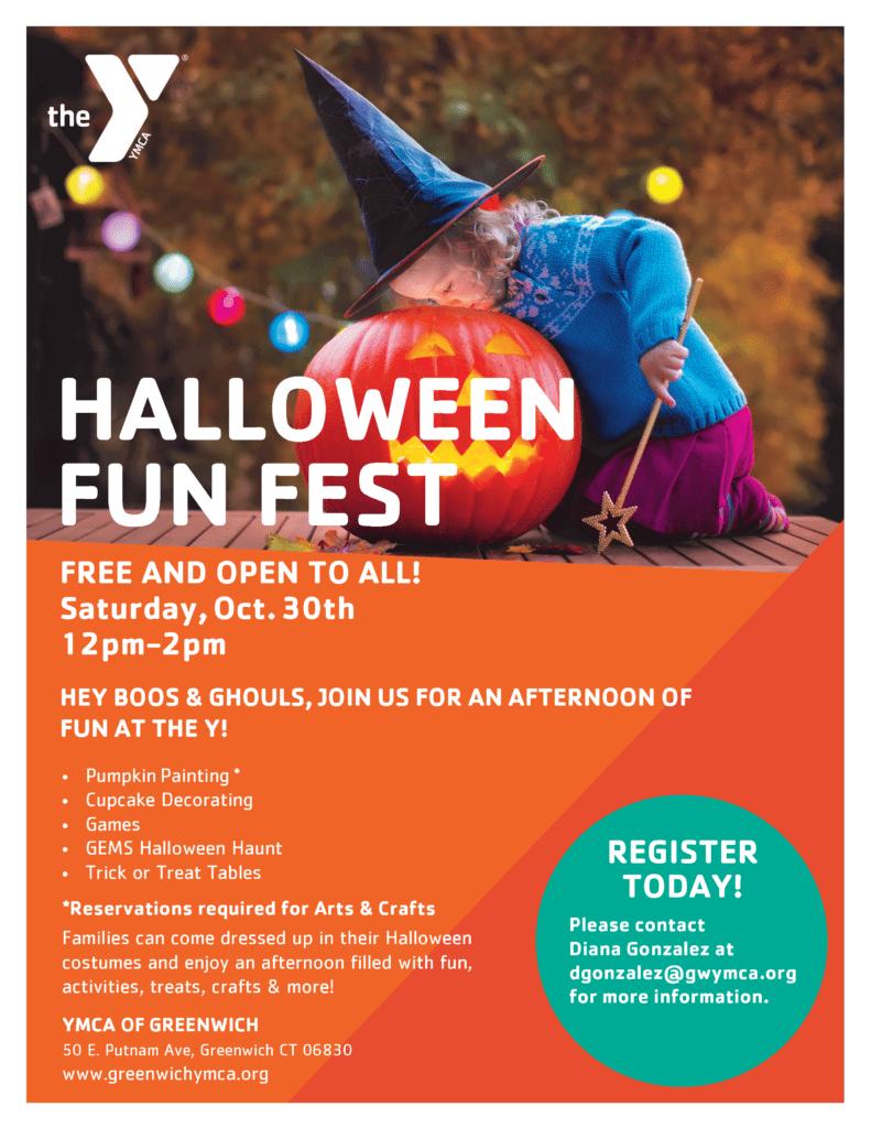 Halloween Fun Fest @ YMCA of Greenwich