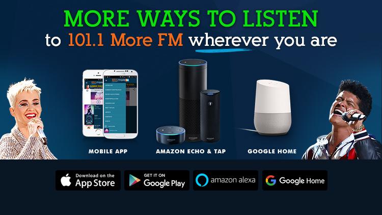 101.1 More FM Philadelphia | WBEB-FM