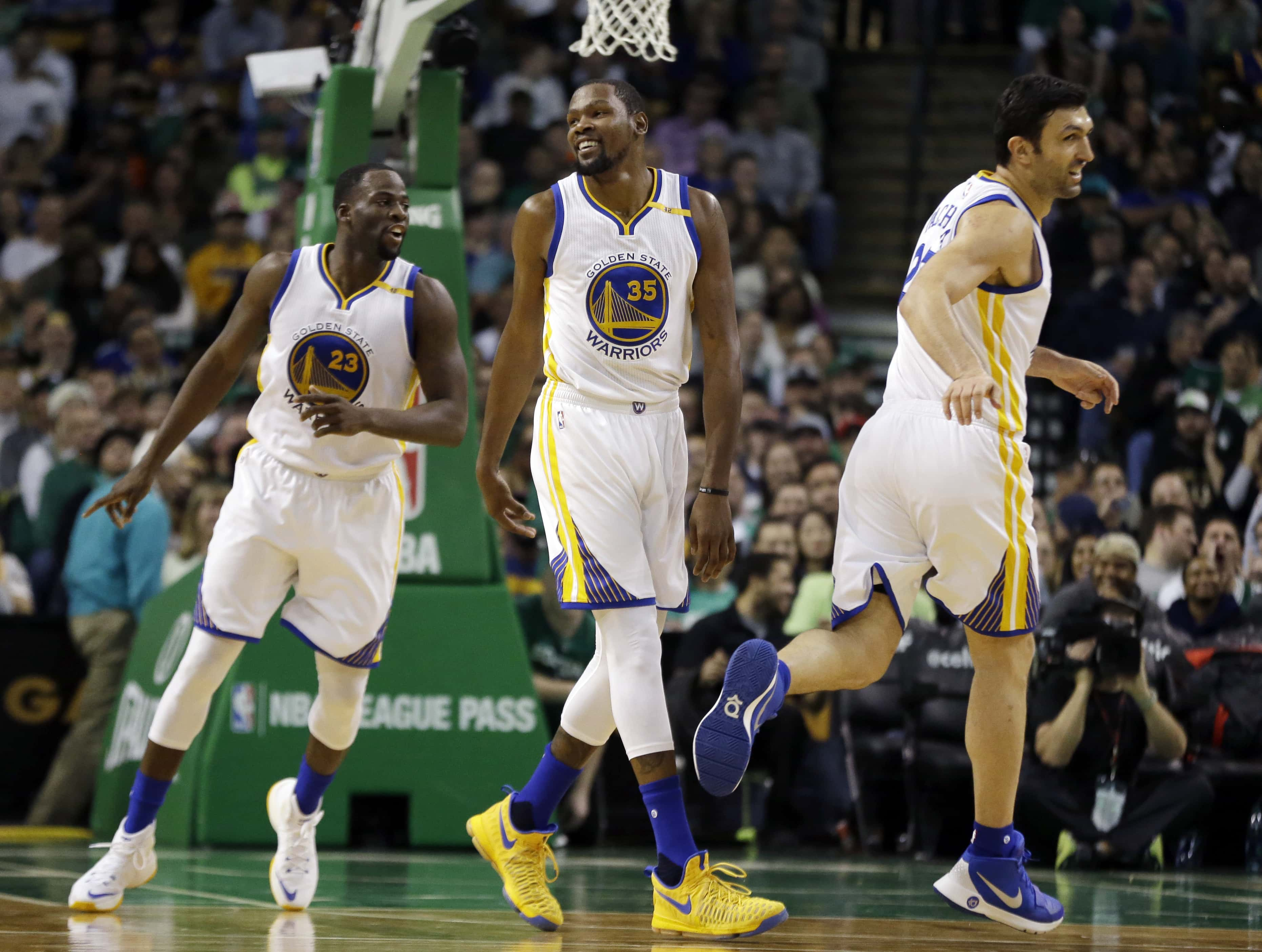 cb5410088f9 Warriors Dominate The Third Quarter To Beat The Celtics
