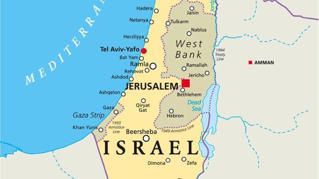 Tel Aviv Middle East Map.Trump Middle East Advisor Talks Peace With Leadership In Israel Ksro