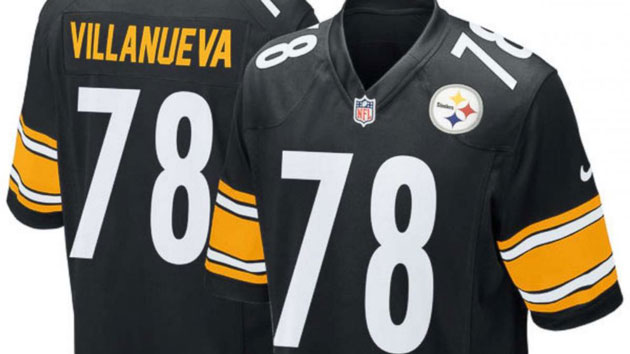 ... Black Rush Home Game Jersey NFL(PITTSBURGH) — The Pittsburgh Steelers Alejandro  Villanueva has become the top-selling Alejandro Villanueva 78 ... c4e3adc53
