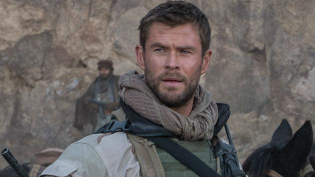 Comic book hero Chris Hemsworth talks real-life heroes, in ...