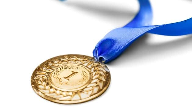 first gold medal of 2018 winter olympics awarded ksro