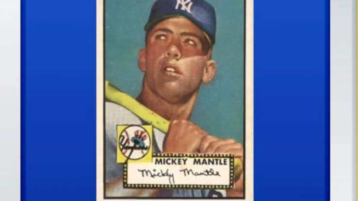 3e37902b720 1952 Mickey Mantle baseball card sells for  2.88 million  Report