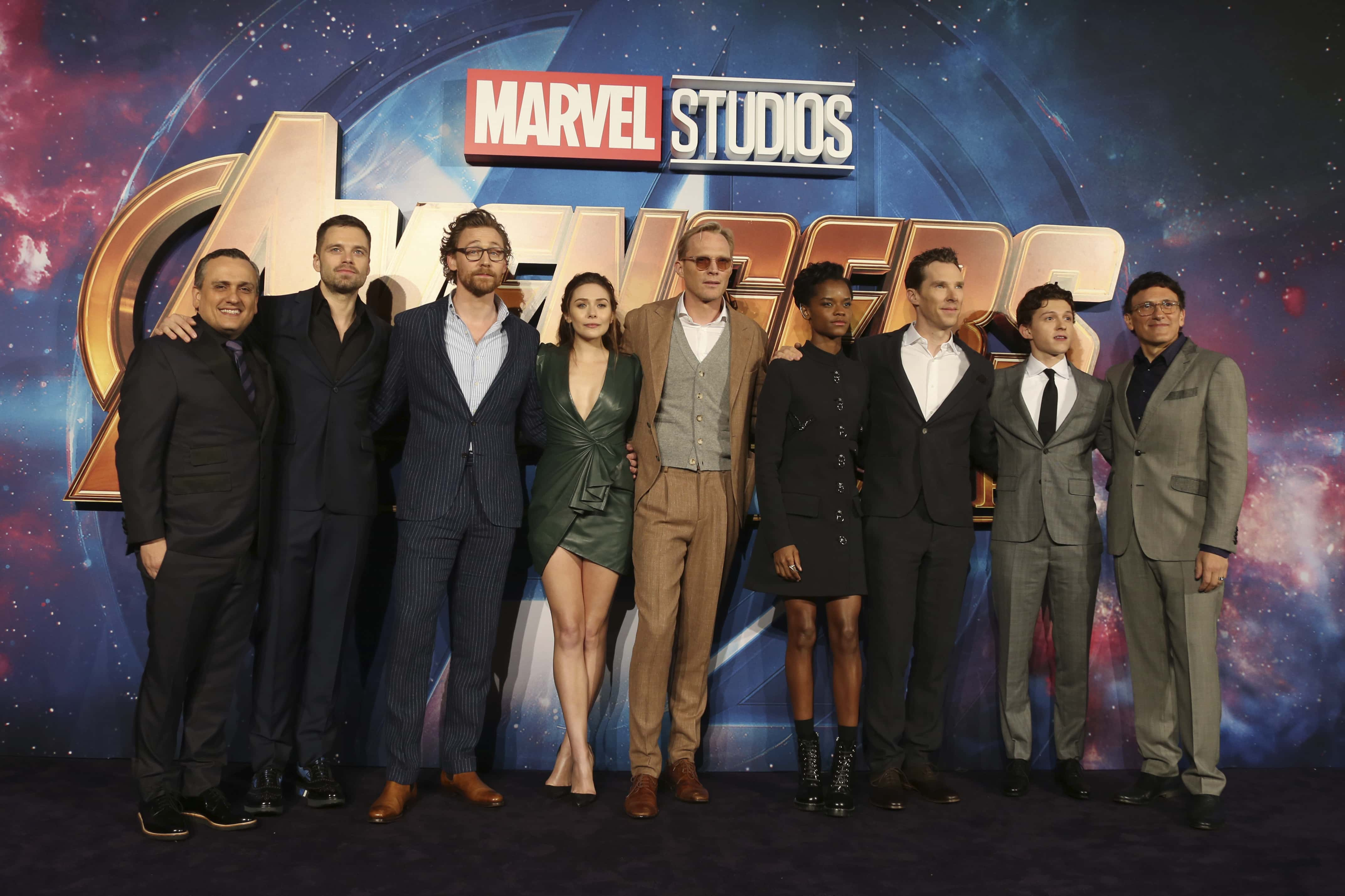 cast and crew of avengers infinity war