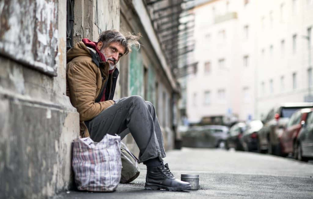 U S Homeless Population Up Slightly For The Second