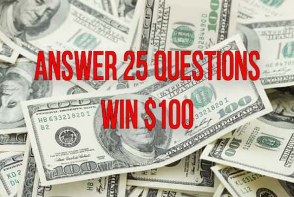Answer 25 Questions For A Shot To Win $100 | KSRO