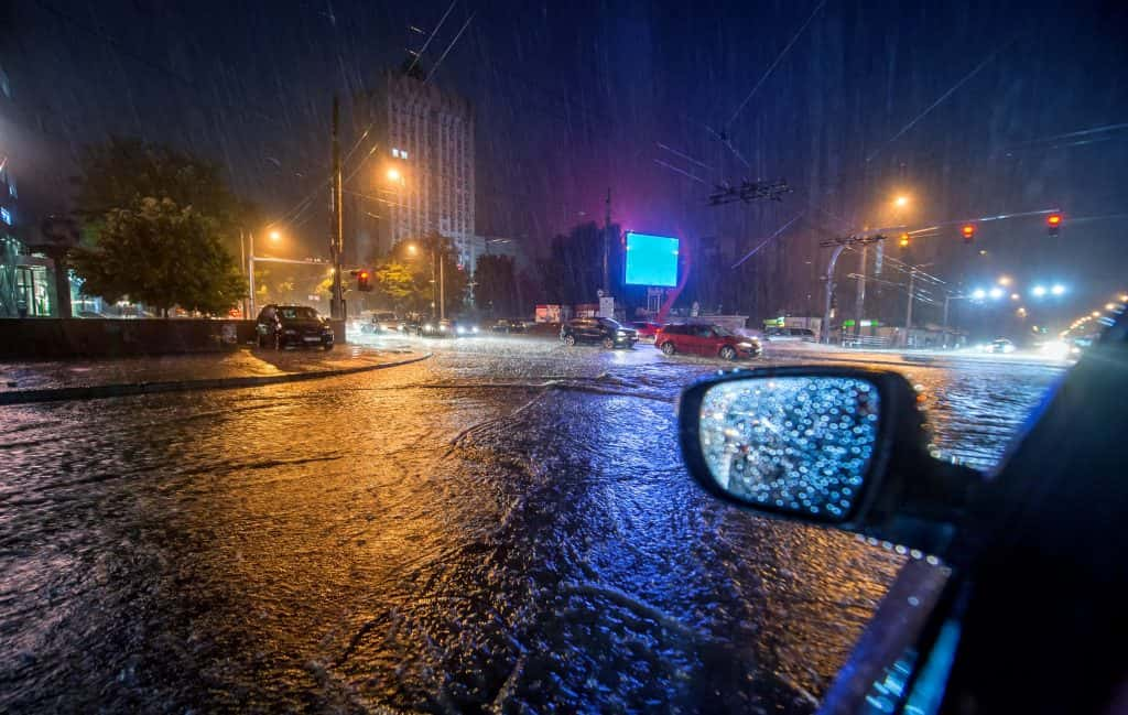 Flash Flood Warning, Wind Advisory in Effect As Latest Storm