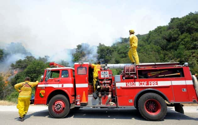 Firefighters Finishing Battle With Canyon Fire | KSRO