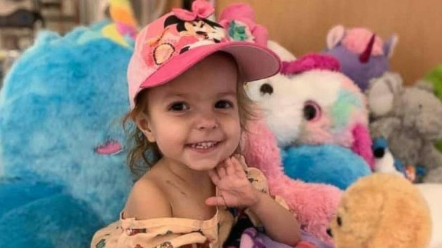 2 Year Old Diagnosed With Rare Ovarian Cancer Is Now Cancer Free Ksro