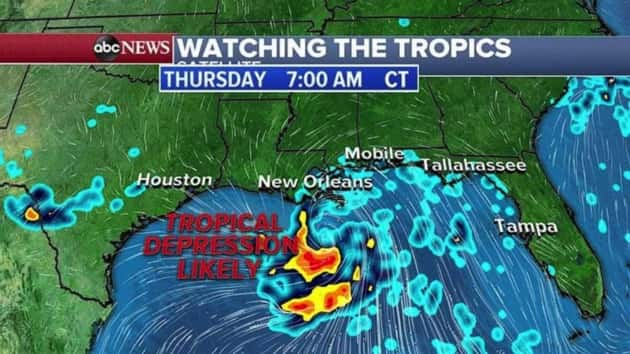 Louisiana under state of emergency as severe weather moves